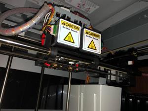 3Dプリンタ内部 クリーニング